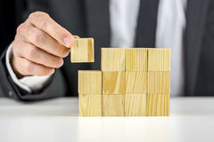 建立企业概念 免版税图库摄影