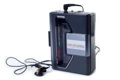 立体声卡式磁带播放机 库存照片