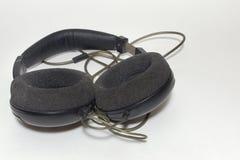 立体声耳机, circumaural类型 图库摄影