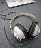 立体声耳机 库存照片