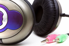 立体声耳机 免版税库存图片