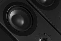 立体声音响系统 免版税库存照片