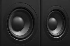 立体声音响系统 图库摄影