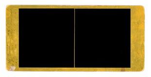 立体镜框架grunge减速火箭的幻灯片 免版税库存图片