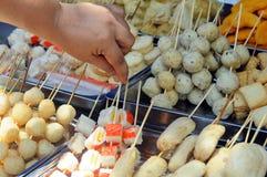 立即使用街道的食物 免版税库存图片