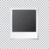 立即照片框架被隔绝的传染媒介 免版税库存照片