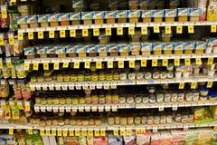 立即婴儿食品 免版税库存图片