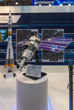 立场状态矢量空间公司- Roscosmos (俄罗斯) 图库摄影