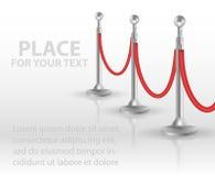 立场绳索障碍打开 也corel凹道例证向量 向量例证