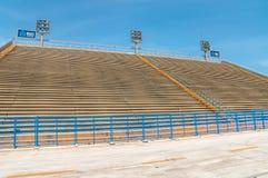 立场Sambadromo在里约热内卢,巴西- -细节 库存照片