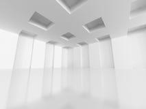 建立室内设计背景的抽象建筑学 库存图片