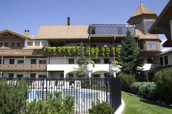 建立德国建筑学的旅馆 图库摄影