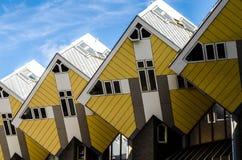 立方体房子在鹿特丹 库存图片