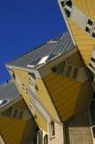 立方体房子,鹿特丹 免版税库存图片