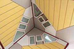立方体房子细节 库存图片