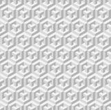 立方体无缝的样式 也corel凹道例证向量 免版税库存图片