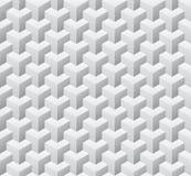 立方体无缝的样式 也corel凹道例证向量 图库摄影