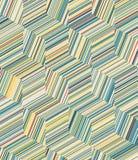 立方体样式背景 库存例证