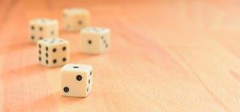 立方体比赛 免版税库存照片