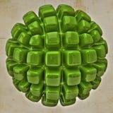 立方体球形 图库摄影