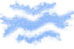 立方体线路 免版税库存照片