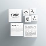 立方体网络设计 免版税图库摄影