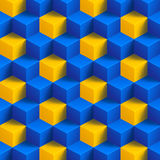 立方体背景091 库存照片