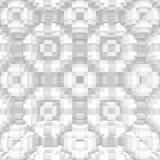 立方体3d挤压对称背景,几何形状 向量例证