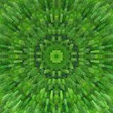 立方体3d挤压对称背景,设计纹理 向量例证