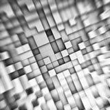 立方体astract背景 免版税库存照片