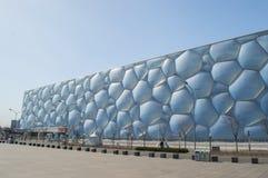 水立方在北京 库存照片
