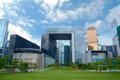 立法院复合体在香港 免版税库存图片