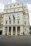 立陶宛使馆,伦敦 库存照片