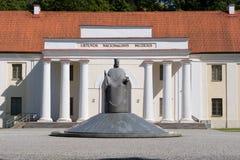 立陶宛博物馆国民 免版税图库摄影