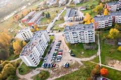 立陶宛市 免版税库存照片