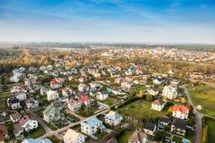 立陶宛市 免版税库存图片