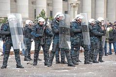 立陶宛暴乱 图库摄影