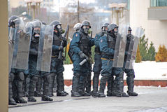 立陶宛暴乱 免版税库存照片
