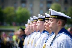立陶宛海军战士 库存图片