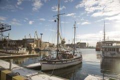 立陶宛港口 库存照片
