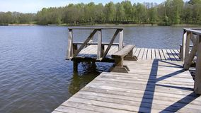 立陶宛的湖 影视素材