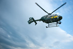 立陶宛边防卫兵欧洲直升机公司EC 13 库存照片