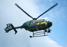 立陶宛边防卫兵欧洲直升机公司EC 13 免版税图库摄影