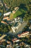 立陶宛维尔纽斯 哥特式上部城堡 立陶宛俄国沙皇时代的太子的大教堂和宫殿 库存图片