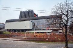 立陶宛 歌剧和芭蕾维尔纽斯剧院  2017年12月31日 图库摄影