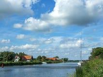 立陶宛minge村庄 图库摄影
