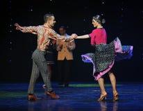 立刻成为朋友这奥地利的世界舞蹈最好  库存图片