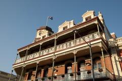 建立- Fremantle -澳大利亚的殖民地19世纪60年代 免版税图库摄影