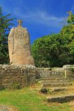 竖石纪念碑圣徒Uzec 免版税图库摄影