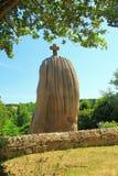 竖石纪念碑圣徒Uzec 免版税库存照片